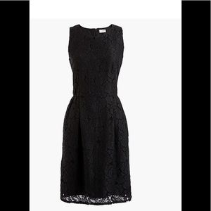 NWT J. Crew fitted lace dress